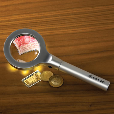 The Lighted Magnifying Glass