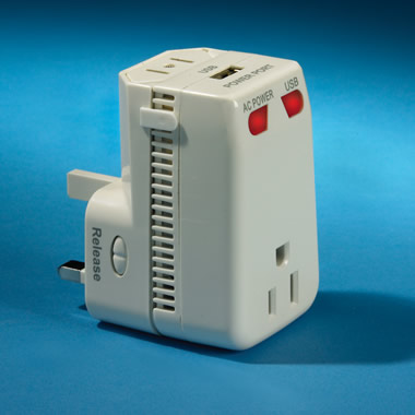 The 150-Country Travel Adapter And Converter