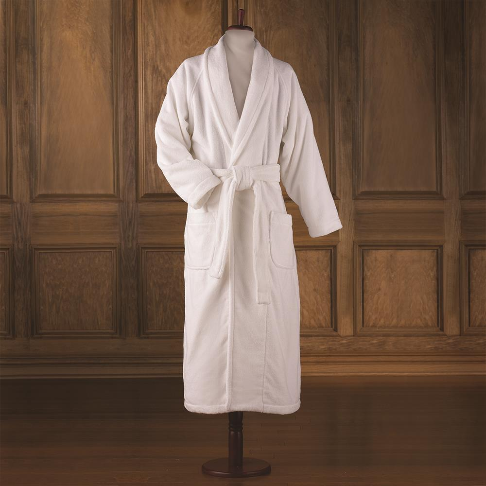 The Genuine Turkish Luxury Bathrobe Hammacher Schlemmer