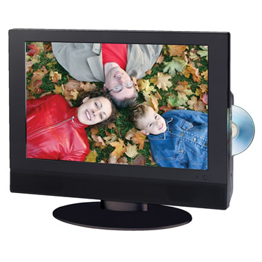 The 19 Inch High Definition TV/DVD Player.