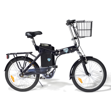 The Foldable Electric Bicycle.