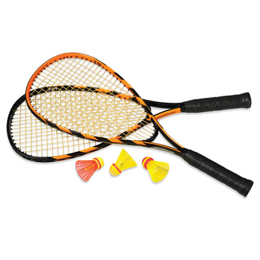 The 189 MPH Speedminton Set.