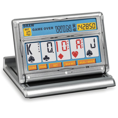 The Portable Touchscreen Video Poker Game.
