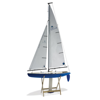 The 5 1/2 Foot Tall Remote Controlled Competition Sailboat.