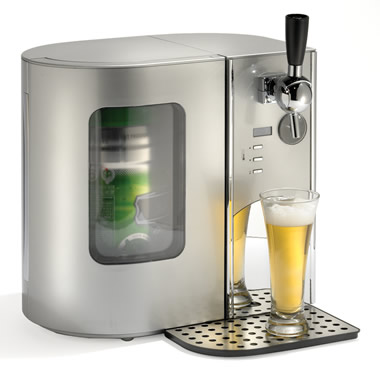The Countertop Beer Cooler And Tap.