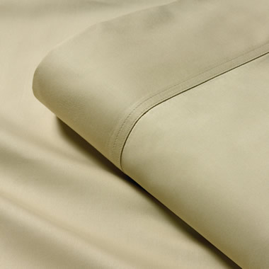 The King Sized 500 Thread Count Superfine microCotton Flat Sheets.