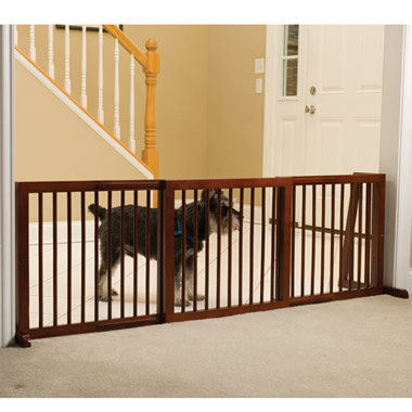 The Extra Wide Free Standing Pet Gate (Large).