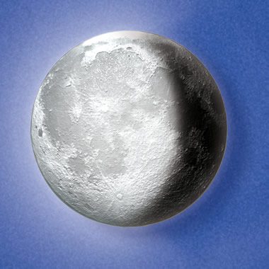 The Complete Lunar Cycle Illuminated Moon.