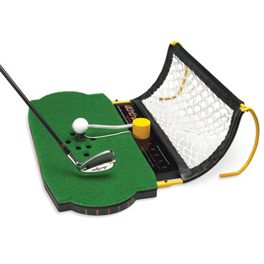 The Authentic Swing Golf Simulator.