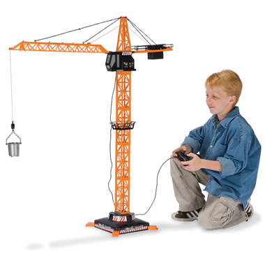 The 4-Foot Remote-Controlled Crane.