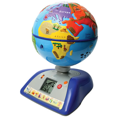 The Children's Interactive Globe.