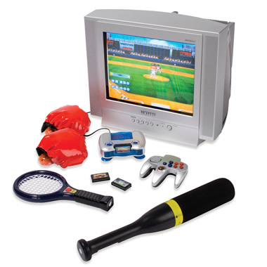 The Baseball, Tennis, And Boxing Interactive Television Game.