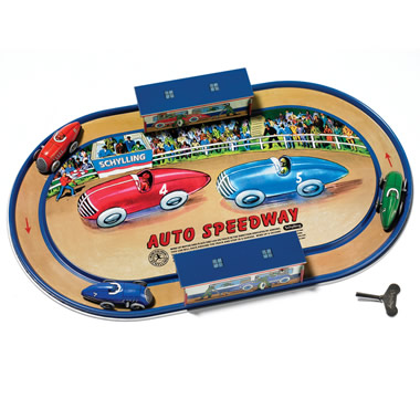 The Classic Wind-Up Auto Speedway.