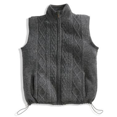 The County Mayo Wool Body Warmer.