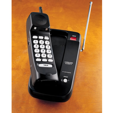 The Clarity-Enhancing Cordless Phone.
