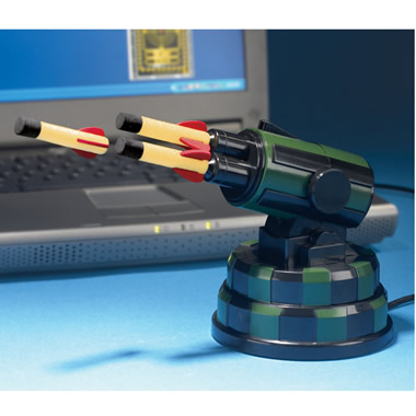 The Desktop USB Missile Launcher.