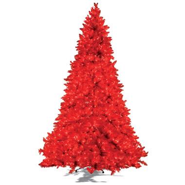 The 7 1/2 Foot Prelit Crimson Tree.