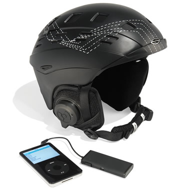 The Bluetooth Sports Helmet.