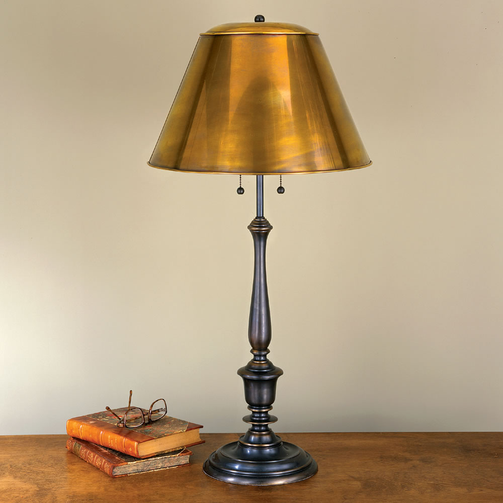 The new york public library reading table lamp hammacher schlemmer the new york public library reading table lamp aloadofball Image collections