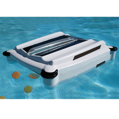 The First Solar Powered Robotic Pool Skimmer.