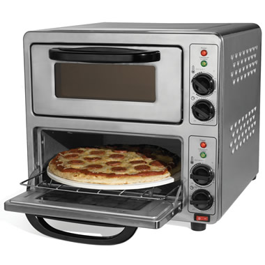 The 90 Second Dual Pizza Oven.