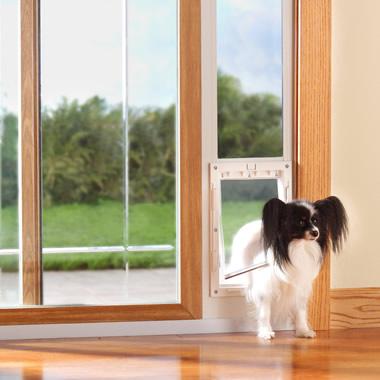 The Easy To Install Slider Pet Door (Medium).