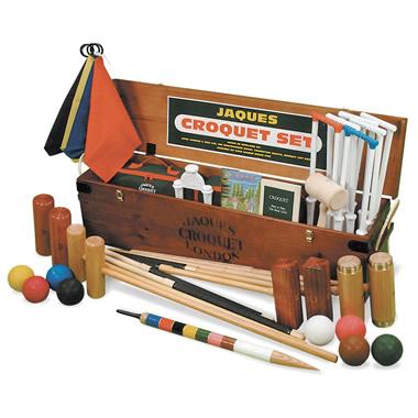 The 1851 Great Exhibition Commemorative Croquet Set.