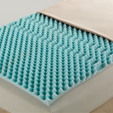 The Breathable Memory Foam King Mattress Pad.