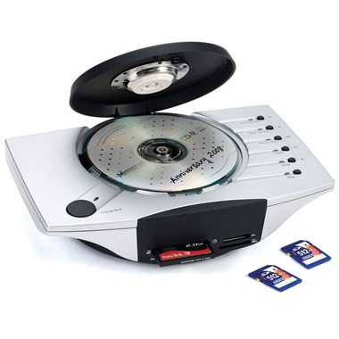 The Digital Photo To DVD Converter.