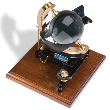 The Authentic Campbell-Stokes Sunshine Recorder.