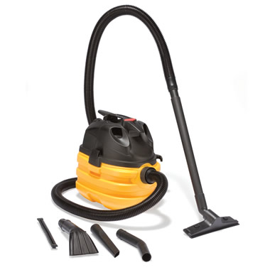 The 5.5 HP Portable Wet/Dry Vac.