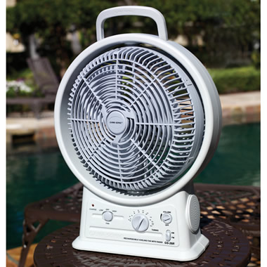 The Cordless Rechargeable Fan.