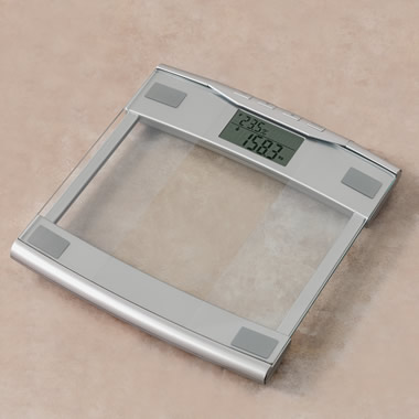 The Digital Weight And Body Composition Scale.