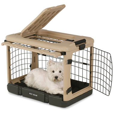 The Easy Access Portable Pet Kennel (Large).