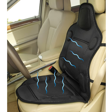 The Cooling/Heating Automobile Seat Cushion.