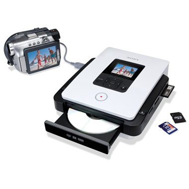 The Digital Video And Photo To DVD Converter.