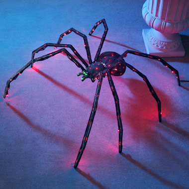 The 36 Inch Twitching Lighted Spider.