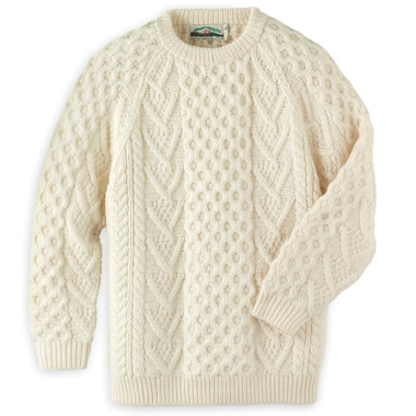 The Genuine Hand Knitted Aran Sweater