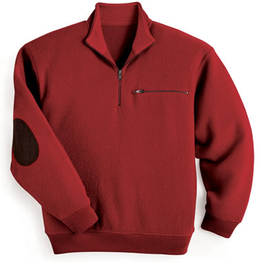 The Boiled Wool Ridgeline Sweater
