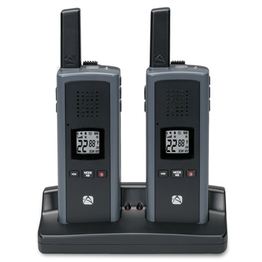 The Dual Powered Hand Crank Two Way Radios