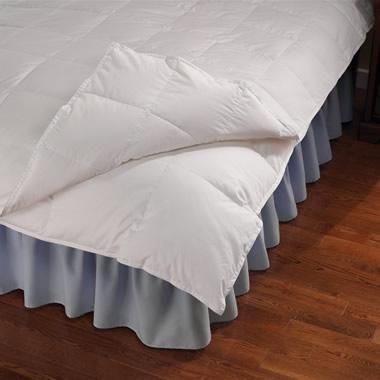 The All Seasons Down Comforter (Queen).