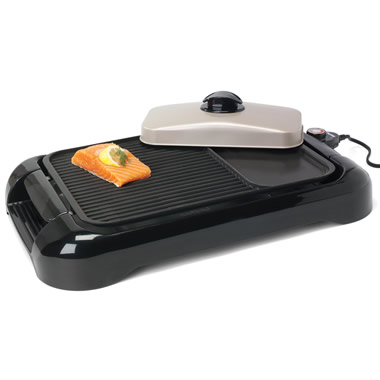 The Smokeless Electric Grill