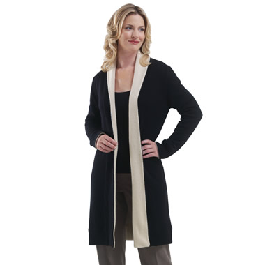 The Cashmere Reversible Duster