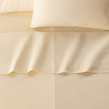 The Dual Fabric Comfort Sheet (Queen).
