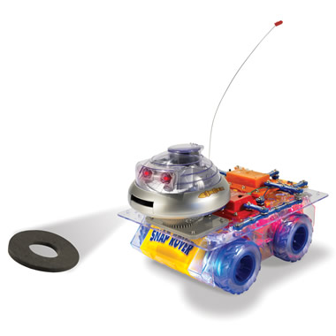 The Disc Shooting Remote Controlled Rover Kit.