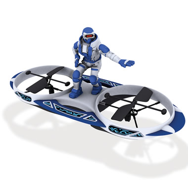 The Remote Controlled Hovering Space Surfer
