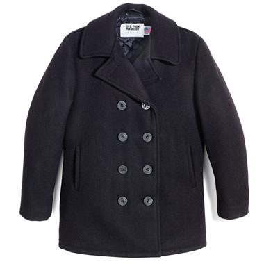 The Classic Midshipmen's Pea Coat.