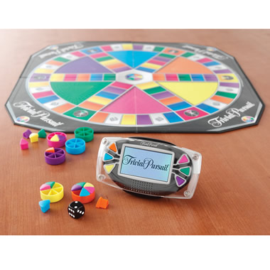 The Customizable Electronic Trivial Pursuit.