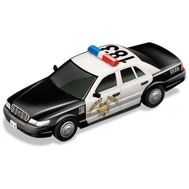 Police Slot Car.