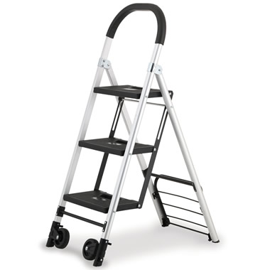 The 2-in-1 Ladder/Hand Truck.